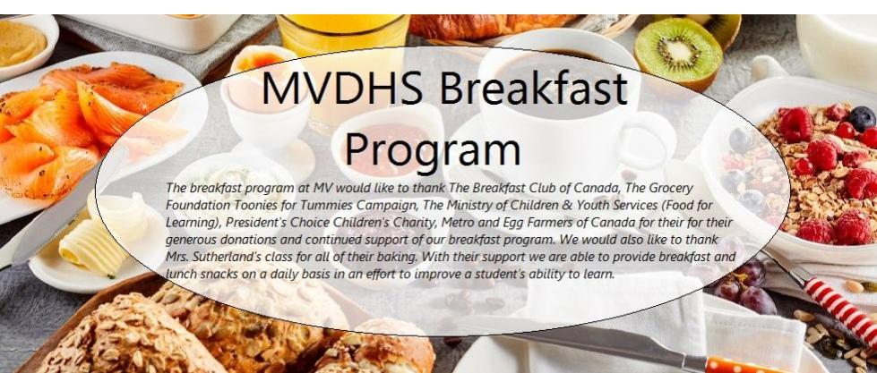 Breakfast program
